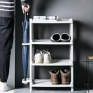 鞋櫃鞋架多層簡易型家用架子宿舍門口鞋子收納置物架塑料DIY鞋柜 阿卡娜