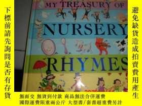 二手書博民逛書店MY罕見TREASURY OF NURSERY RHYMES (精裝英文原版)Y25524