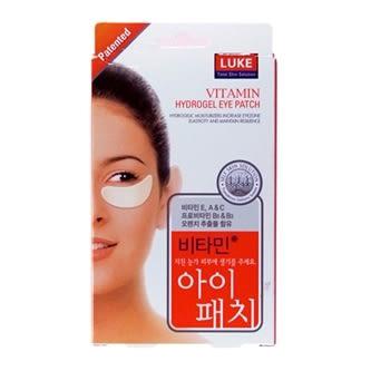 【LUKE】維他命果凍眼膜-5組入【買1送1】【台安藥妝】