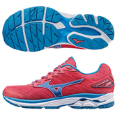 Mizuno WAVE RIDER 20 女鞋 慢跑 避震 耐磨 紅 藍  【運動世界】 J1GD170329