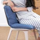 坐墊連身坐墊靠墊一體辦公室椅墊地板加厚學...