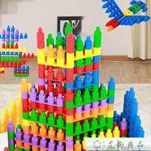 積木 幼兒園早教益智拼插子彈頭塑料積木