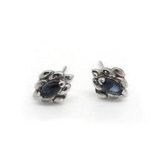 天然藍寶石 時尚 耳飾