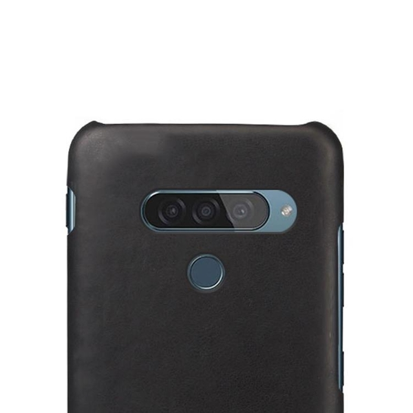 手機殼 適用LG G8S手機殼皮質背殼lgg8s防摔保護套簡約手機套復古外殼
