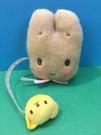 【震撼精品百貨】新娘茉莉兔媽媽_Marron Cream~Sanrio 兔媽媽造型絨毛捲尺-粉#18959
