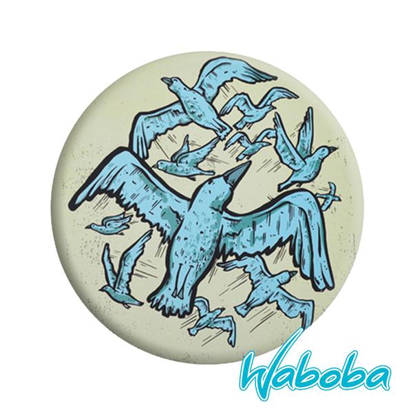 【Waboba】軟式飛盤/藝術家 系列1『飛鳥』304C01 戶外 出遊 沙灘 海岸 親子 遊戲 兒童 公園 飛盤