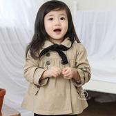 童裝 娃娃裝風衣外套  小公主花童必備  童裝 夾克 橘魔法Baby magic 現貨 兒外套