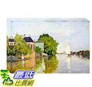 [COSCO代購] W121496 莫內-白帆風景松木框油畫 60x90CM