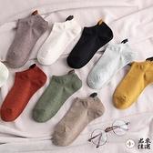 5雙 情侶襪子女船襪純棉淺口低幫短襪吸汗男士透氣夏天薄款【君來佳選】