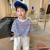 童裝男童短袖T恤夏裝新款兒童時尚男孩百搭休閑體恤【齊心88】