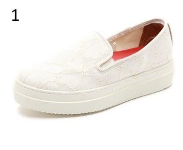 美國松糕厚底內增高帆布鞋學生女平底低幫布鞋休閒女:jme0013