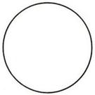 《享亮商城》1010 圓形空白 16mm  鶴屋