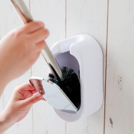 壁掛馬桶刷套裝 衛浴 馬桶 馬桶刷 收納 清潔 刷具 居家 無痕貼 壁掛