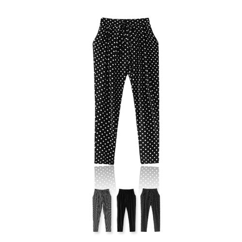 MIUSTAR 休閒指標!絲光涼感雙口袋抽繩流行哈倫褲(共3色)【NF1398GW】預購