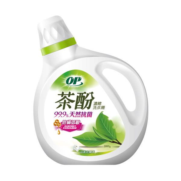 OP茶酚天然防螨低敏洗衣精2000g【康是美】