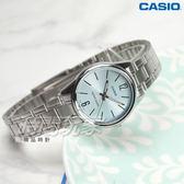 CASIO卡西歐 LTP-V005D-2B 簡潔風格鋼帶女錶 石英錶 防水手錶 不銹鋼 藍綠 LTP-V005D-2BUDF
