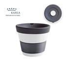 德國Kahla 摩登系列-230ml含蓋點心杯-深邃黑-原廠盒裝
