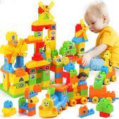 兒童積木 兒童積木拼裝玩具益智6-7-8-10歲男孩子塑料拼插寶寶 珍妮寶貝