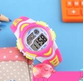手錶  兒童手錶女孩防水夜光中小學生手錶女運動電子錶數字式女童手錶  維多