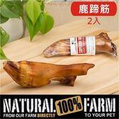 Pet's Talk~紐西蘭Natural Farm100%純天然鹿蹄筋-2入 純天然的潔牙骨