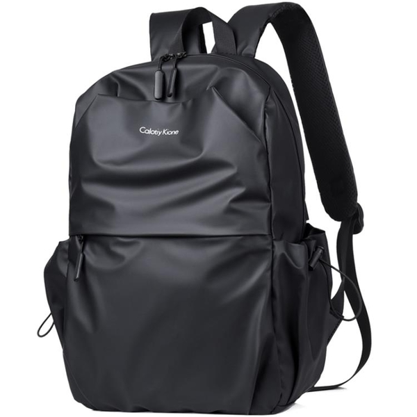 2020新款時尚雙肩包男潮牌休閒男士背包旅行包學生書包潮流大容量 後街五號