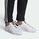 J-adidas SUPERSTAR SHOES 貝殼頭 金標 休閒 運動 男女 黑白紅藍 金標 撞色 鞋標 FW6775