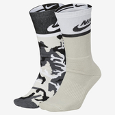 Nike SB Energy Crew [SX6848-903] 男 迷彩 中長襪 透氣 舒適 潮流 時尚 2入 黑白