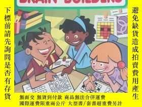 二手書博民逛書店Title:罕見Super Brain Builder Puzz