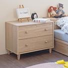 斗櫃 床頭櫃 收納【收納屋】小木偶二抽斗櫃&DIY組合傢俱