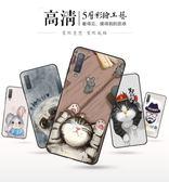 三星Galaxy A7 2018版 手機殼 高清 彩繪 卡通 保護套 可愛 傲嬌 貓咪 保護殼 全包 防摔 軟殼