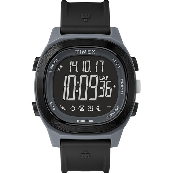 【TIMEX】 天美時 鐵人系列 多功能電子錶 (黑 TXTW5M19000)