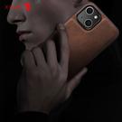 X-Level iPhone 13 pro max 手機殼 伯爵貼皮 商務 防摔 全包邊 保護套 簡約 防摔殼 手機套 保護殼