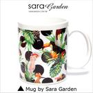 客製 手作 彩繪 馬克杯 Mug 叢林 大嘴鳥 圓點 圖騰 咖啡杯 陶瓷杯 杯子 杯具 牛奶杯 茶杯