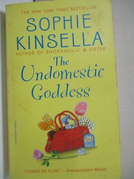 【書寶二手書T1/原文小說_CSG】Undomestic Goddess_Sophie Kinsella