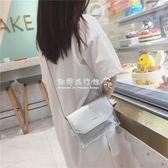 透明果凍夏天小包包女潮韓版百搭斜跨單肩迷你包小清新 『歐韓流行館』