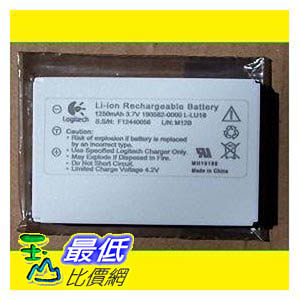 [美國代購 USAShop] 原廠電池 Logitech Battery for Harmony Remote Control 1000 1100 1100i 3.7V 1250mAh $1029