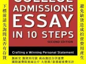 二手書博民逛書店Conquering罕見The College Admissions Essay In 10 Steps, Sec