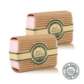 【Paris Fragrance巴黎香氛】玫瑰精油手工香皂150G(2入)