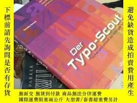 二手書博民逛書店Der罕見Typo-Scout 錯字偵察員 德語Y21066 T