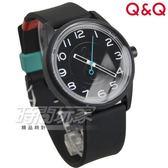 Q&Q SmileSolar 經典升級版數字款 太陽能防水手錶 黑色俄羅斯 男錶 女錶 中性錶 RP00J043Y