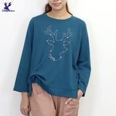 【秋冬新品】American Bluedeer - 星座鹿印花T 二色