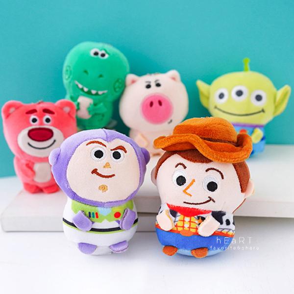 玩具總動員迷你軟QQ吊飾玩偶 吊飾 掛飾