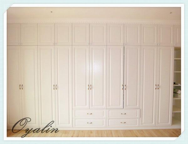 【歐雅系統家具】系統櫃 古典鄉村風 系統衣櫃 系統櫥櫃 EGGER E1-V313防潮塑合板 系統櫃工廠
