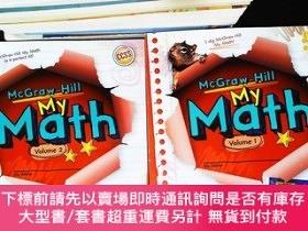 二手書博民逛書店My罕見Math, Grade 1, Vol. 1-2 【2本合售】Y167411 McGraw Hill E
