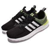 adidas 休閒慢跑鞋 Cloudfoam Lite Racer 黑 黃 白 男鞋 運動鞋 【PUMP306】 AW4030