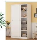 衣櫃 簡易衣柜現代簡約推拉門實木板式組裝...