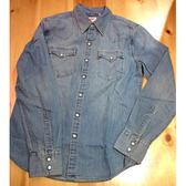 牛仔襯衫 男裝 / Barstow V形雙口袋 / 淺色水洗 / White Oak布廠 / 經典延續款 - Levis