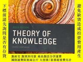 二手書博民逛書店OXFORD罕見IB DIPLOMA PROGRAMME 2013 EDITION THEORY OF KNOWL