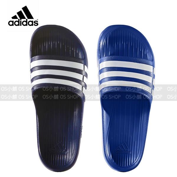 (特價) ADIDAS 愛迪達 運動拖鞋 G14309 寶藍 G15892深藍 Duramo Slide 【代購】
