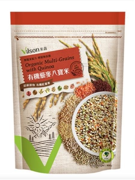 【米森】有機藜麥八寶米/900g